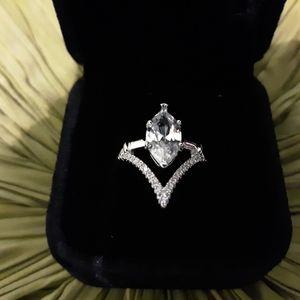 Marquise Design Ring